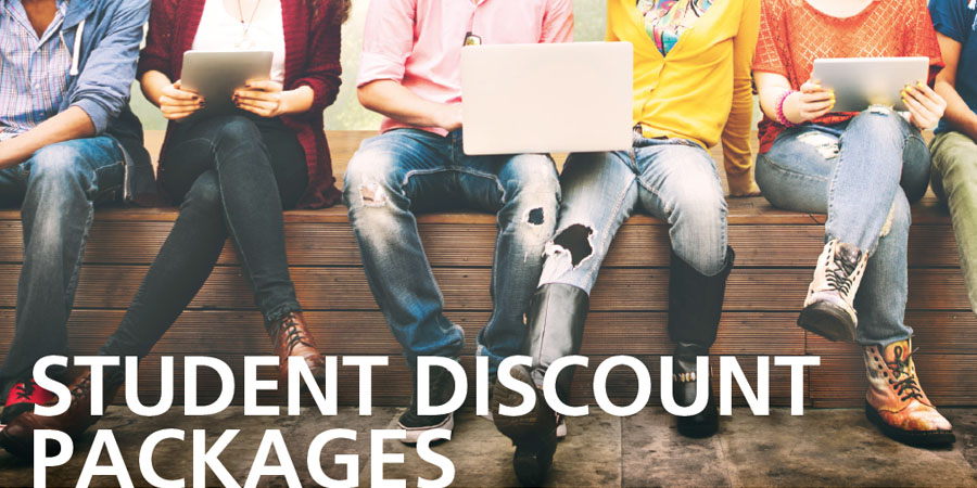Student Discount Packages